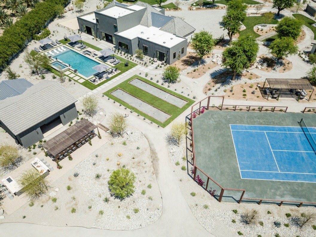 One of AvantStay's newest properties, Mesquite38 located in Coachella Valley boasts 7,800 square feet with endless on-site activities such as golf, tennis, volleyball and more. Photo credit: AvantStay